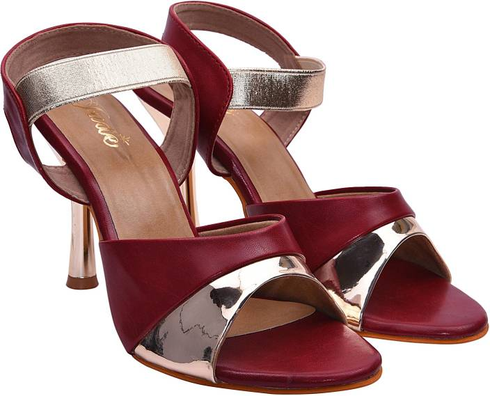 d69d0cce832b Jade Women Maroon Heels - Buy Maroon Color Jade Women Maroon Heels Online  at Best Price - Shop Online for Footwears in India | Flipkart.com