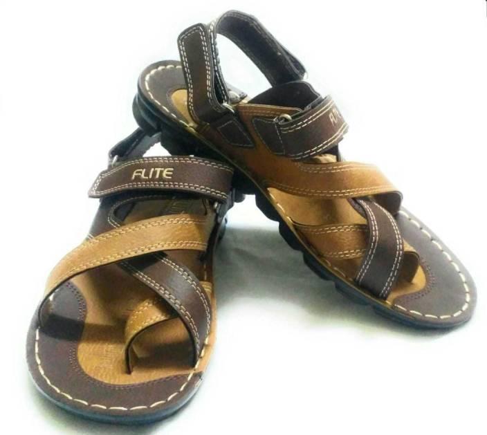 8c50f332d5458 FLITE Men BROWN Sandals - Buy FLITE Men BROWN Sandals Online at Best ...