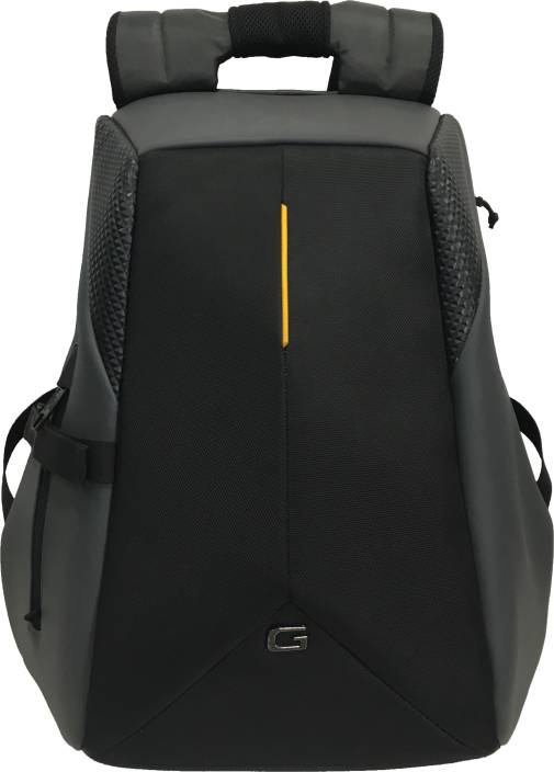 894c4c81b4d7 Gear SHELL ANTI-THEFT 32 L Laptop Backpack Grey-Yellow - Price in ...