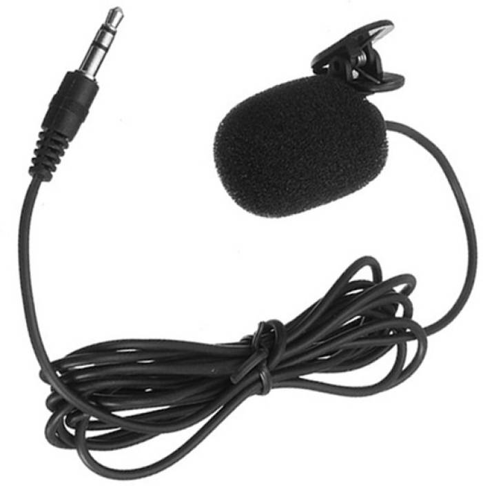 Padraig Clip Collar Microphone 3 5 mm Jack for Recording, ouTube video,  Video Chat etc for Laptop Computer Mobile Microphone