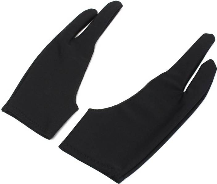 Aadmora 2 Pcs Artist Drawing Two Finger Drawing Artist Glove For