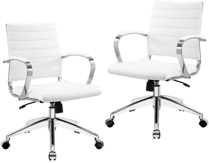 Swell Lakdi White Leatherite High Back Comfortable Executive Gmtry Best Dining Table And Chair Ideas Images Gmtryco