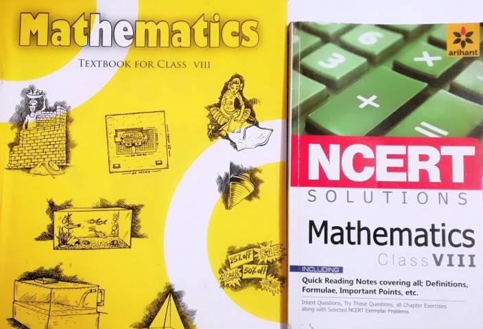 Maths Class 8th Ncert Text Book With Solution Of Arihant(2): Buy