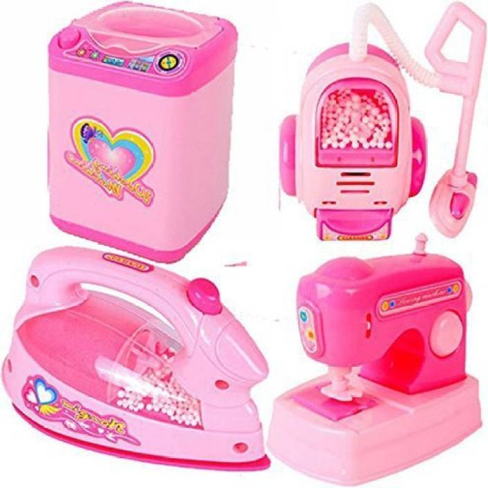 Baby Tintin Pink Household Home Pliances Kitchen Play Sets Toys For S