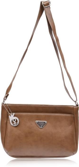 Buy Belizza Fashion Sling Bag Khaki Online   Best Price in India ... 45ec1e47b4fc1