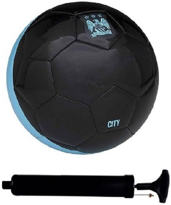 a53c5eb6e SportsCorner Kit of City Black Football (Size-5) with Air Pump   Needle  Football Kit - Buy SportsCorner Kit of City Black Football (Size-5) with Air  Pump ...