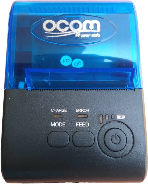 OCOM Portable Mini Wireless USB/Bluetooth 4 0 Printer Compatible with ESC /  POS Print Commands with Cash Drawer Interface for Android & iOS By copious