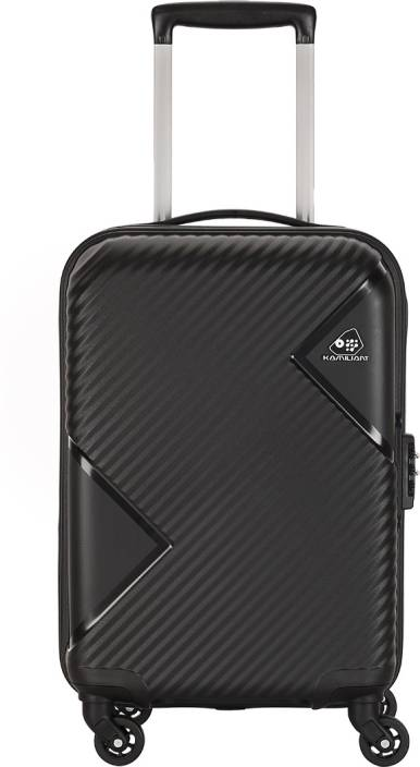 98751675e8 Kamiliant by American Tourister Zakk Sp Expandable Cabin Luggage - 21 inch  (Black)