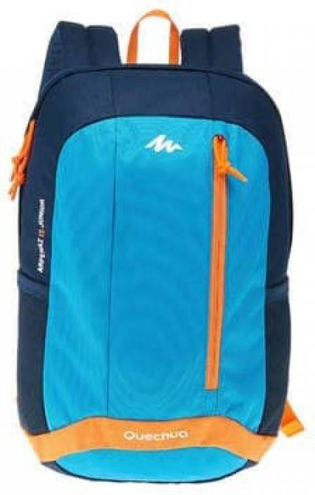 a27424536b5 Quechua by Decathlon JUNIOR ARPENAZ 15 LITERS HIKING BACKPACK - BLUE  (Nursery/Play School) Waterproof Backpack