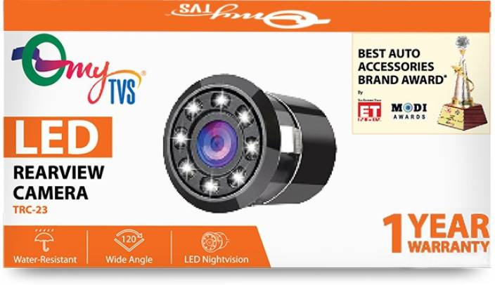ca4a4474098b95 myTVS TRC-23 8 LED Car Rear view Camera for all cars with 1 Yr Warranty  Vehicle Camera System Price in India - Buy myTVS TRC-23 8 LED Car Rear view  Camera ...