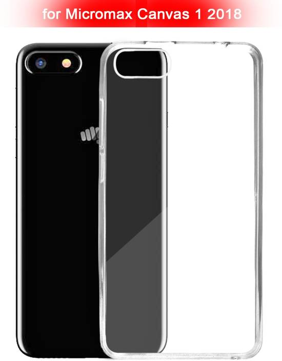 wholesale dealer 24ba2 8c8f2 ECellStreet Back Cover for Micromax Canvas 1 2018 (5.7 Inch)