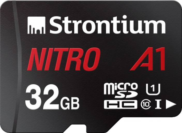 Strontium Nitro A1 32 GB SDHC UHS Class 1 100 Mbps Memory Card
