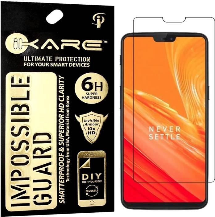 d8a3212a312 iKare Impossible Screen Guard for OnePlus 6 - iKare   Flipkart.com