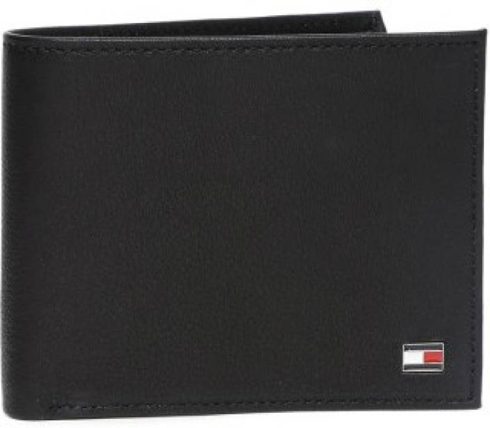 e52b20ed94 Tommy Hilfiger Men Black Genuine Leather Wallet Black - Price in ...
