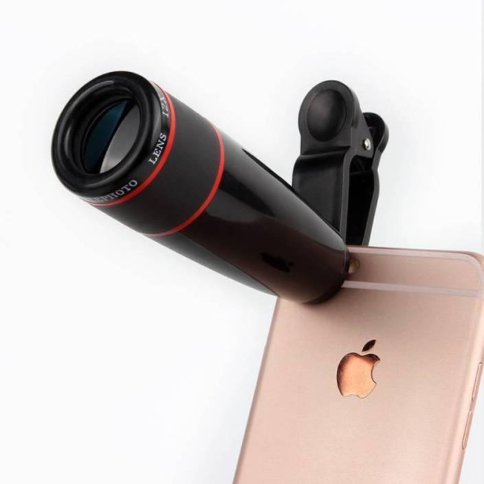 EWELL 12X Mobile Telescope Lens Kit For All Mobile Camera|