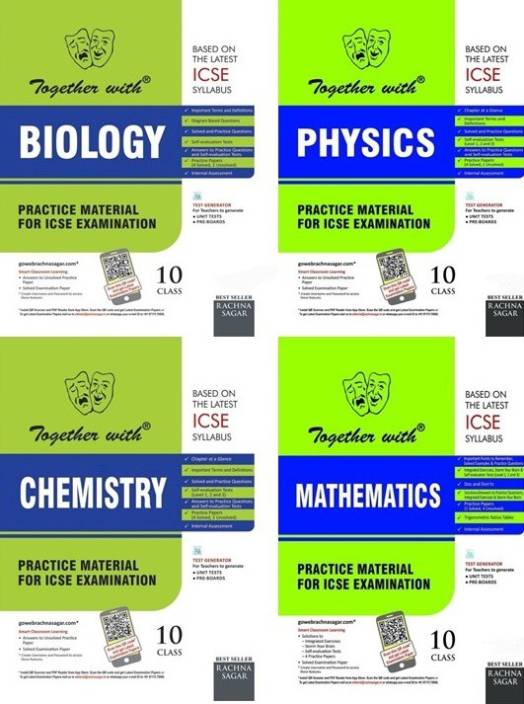 Together With Class 10 ICSE Combo (Physics + Chemistry +