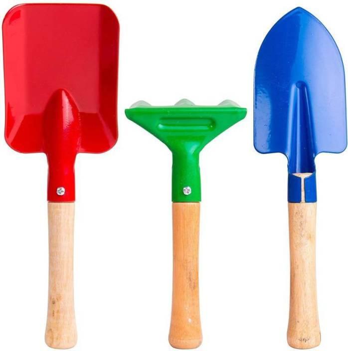 Mopi Mini Coloured 3 PC Garden Tools Garden Tool Kit