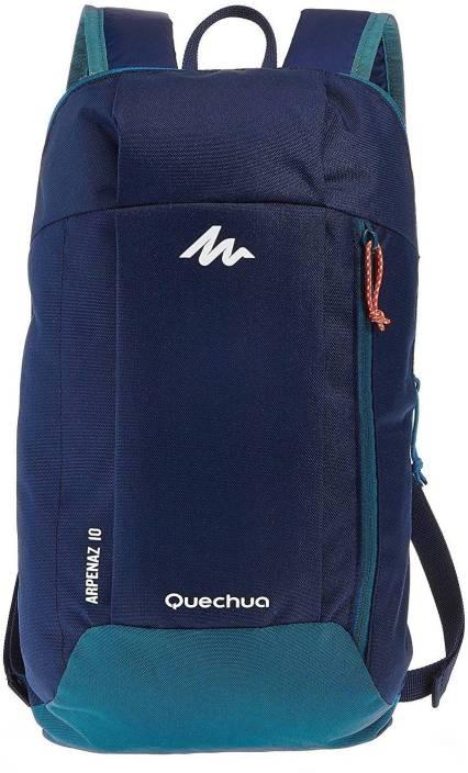 276731b0eb Quechua by Decathlon Arpenaz 10 Ltr Blue Waterproof Backpack (Blue