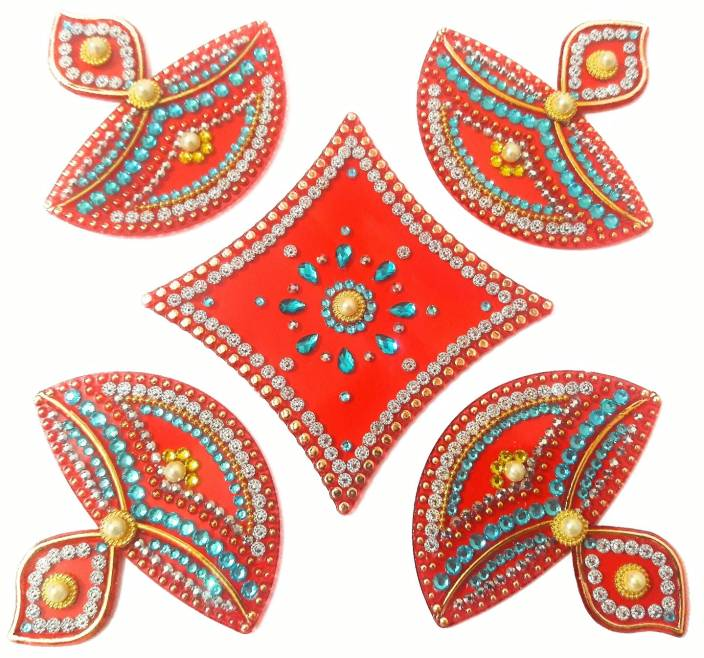 Ss Craft Creations Red Rangoli Design R 72 Rangoli Stencil Price