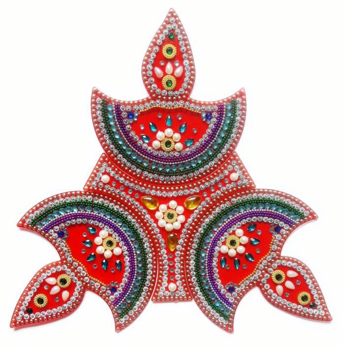 Ss Craft Creations Red Rangoli Design R 69 Rangoli Stencil Price