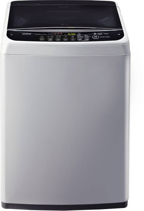 90ff5a98d79c77 LG 6.2 kg Fully Automatic Top Load Washing Machine Silver Price in ...