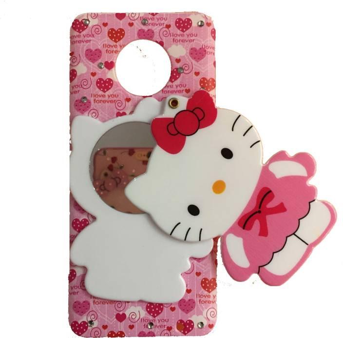 d9012e360 Dream2Cool Back Cover for Mirror Hello Kitty Special Girl's Designer Back  Case Cover for Moto g6-Multicolour (Multicolor, Shock Proof, Flexible Case)