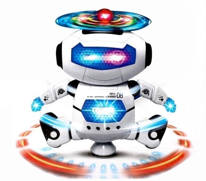 Charnalia Singing Dancing Naughty robot  (White)