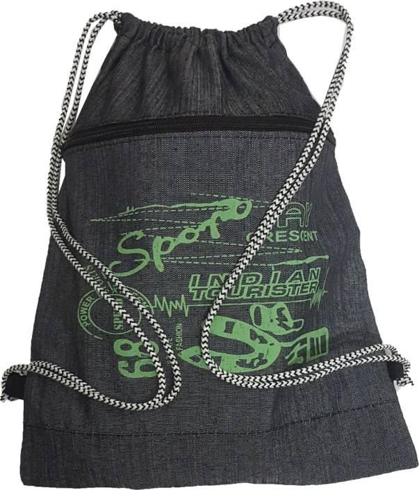 BEST BAGS DORI BAG OF JEANS GREY 18 L Backpack