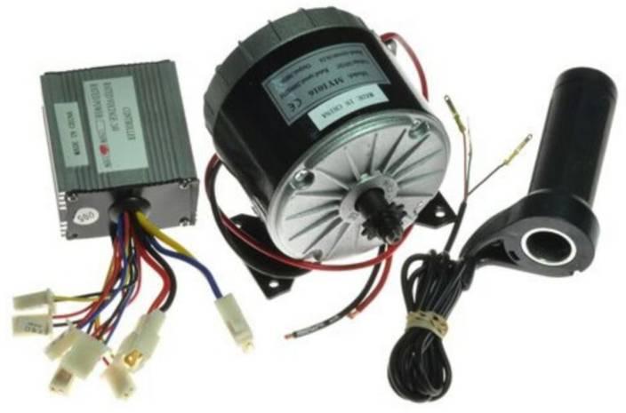 Robodo MY1016 350W + Motor Controller + Twist Throttle, DIY