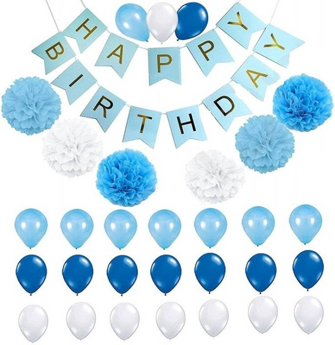 Theme My Party Birthday Decorations Kit For Perfect Decoration