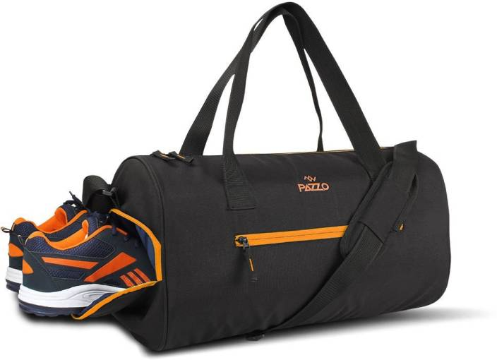 Pazzo Burst Duffel with Shoe Compartment 18.5inch Gym Bag Black ... 3ceb95a78c9f8