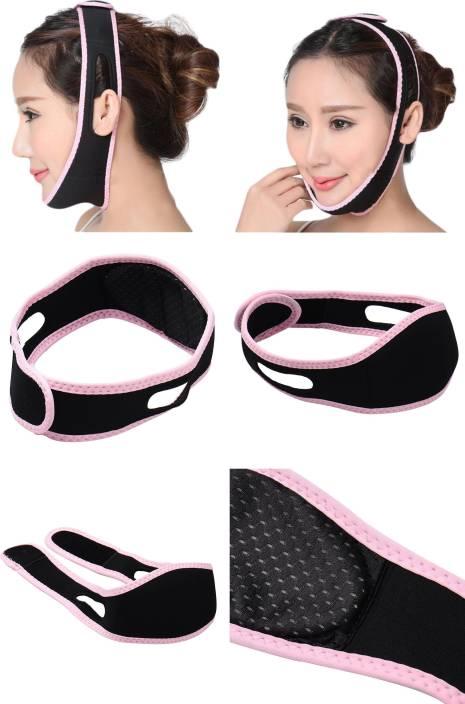 Ritzkart Women Face Massager Anti Wrinkle Half Face belt for Reduce Double  Chin & Cheek Slimming ...