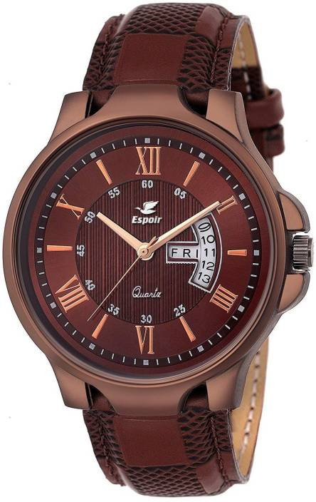 5986b488294 Espoir ES2615 Day and Date Functioning High Quality Watch - For Men - Buy Espoir  ES2615 Day and Date Functioning High Quality Watch - For Men ES2615 Online  ...