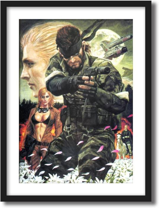 Artcentral Metal Gear Solid Snake Eater Movie Poster