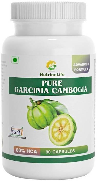 Nutrinelife Pure Garcinia Cambogia 100 Natural Extract Weight Loss Pill Appetite Suppressant Carb Blocker And Burn Fat Formula For Women And Man