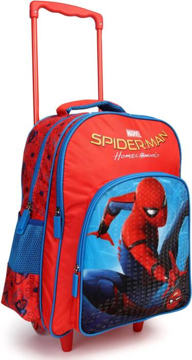 2bc4a814b28 Marvel Spiderman Homecoming (Swing) 16 inch School Bag (Red, Blue, 30 L)