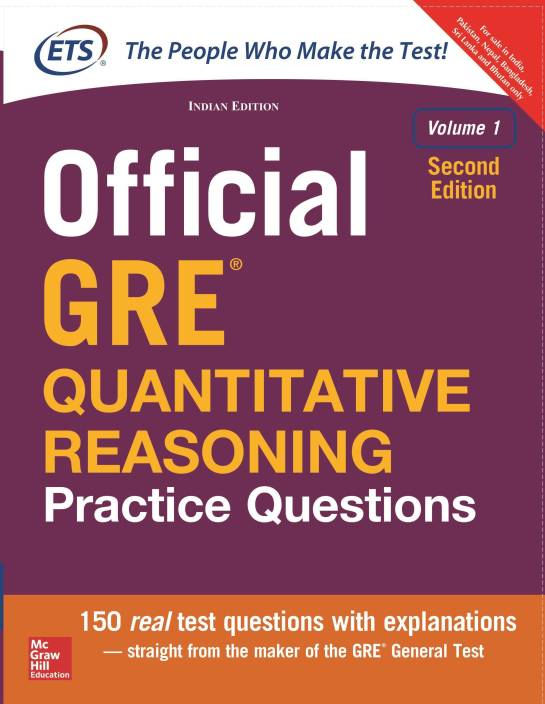 Official GRE Quantitative Reasoning Practice Questions(Volume - 1) Second Edition