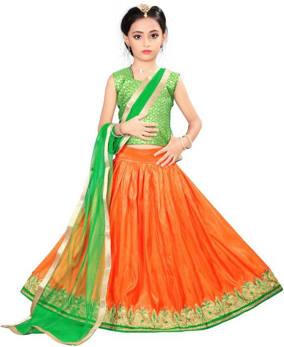 cabd94e55 Arrow Fashion Girls Lehenga Choli Ethnic Wear Printed Lehenga Choli ...
