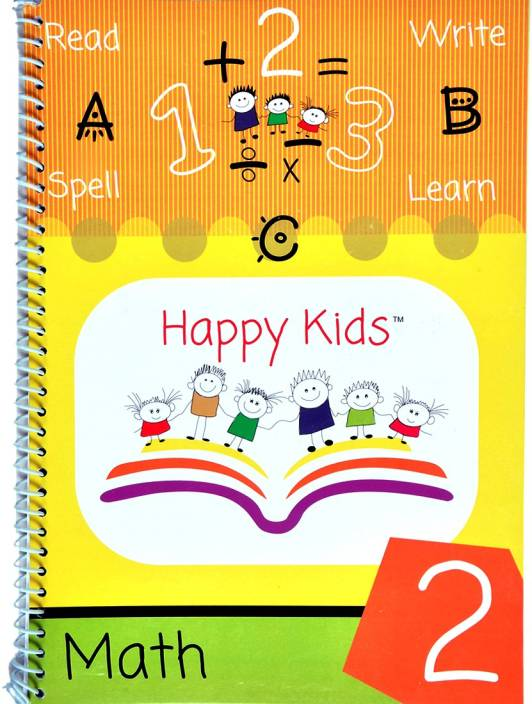 Happy Kids Book - Math 2: Buy Happy Kids Book - Math 2 by