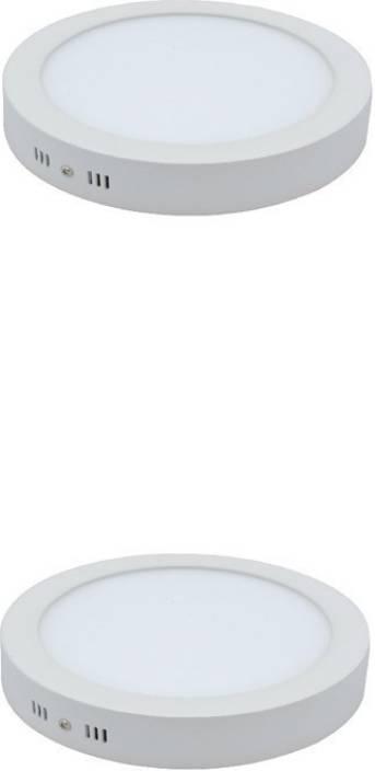 Galaxy 18 watt surface mount cool white light pack of 2 Flush Mount Ceiling  Lamp