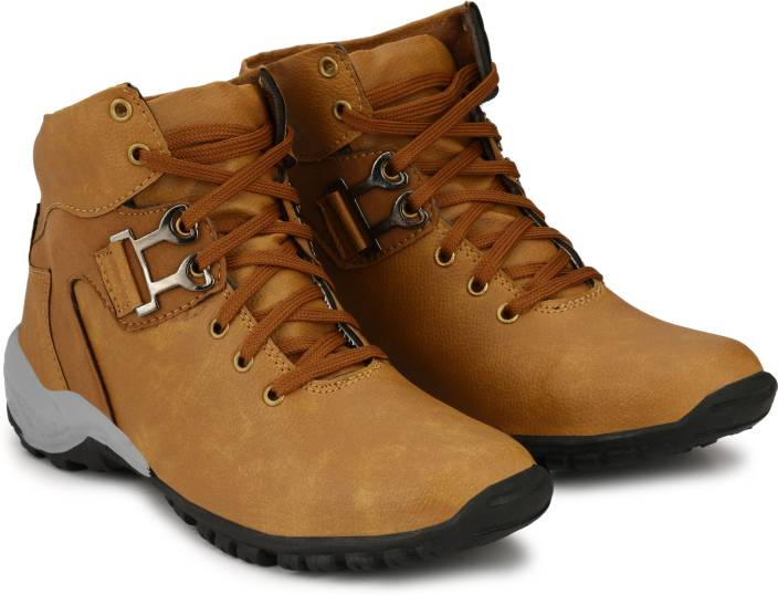 CEONA Boys Lace Casual Boots