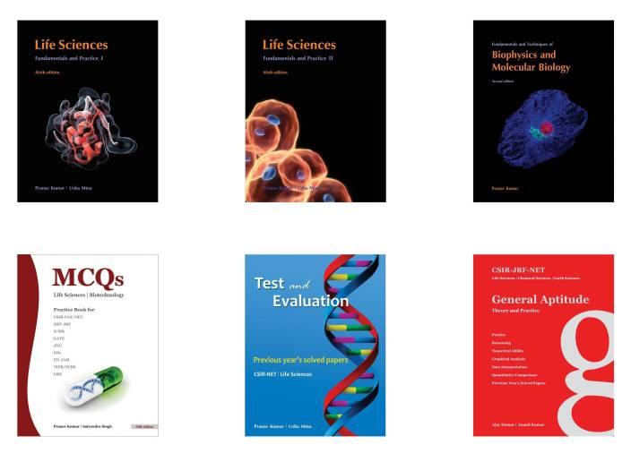 Pathfinder Academy : CSIR-JRF-NET Life Sciences Six Book Combo Set