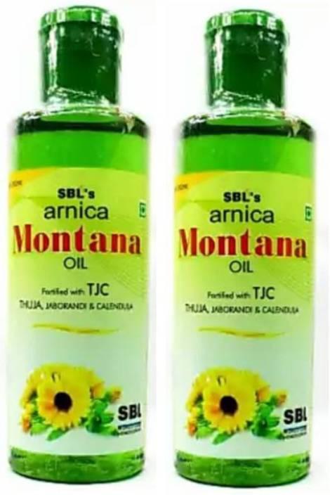 SBL Arnica Montana Hair Oil [Pack of 2] [200 MLX2 ,400ML] Hair Oil