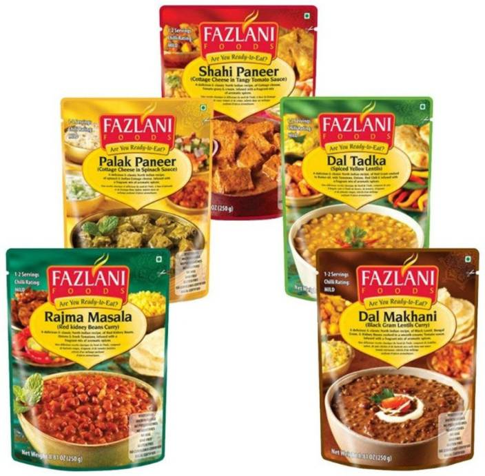 Fazlani Foods Ready To Eat Curries Collection 250 g Price in