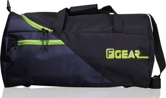 F Gear 23 inch 60 cm Explory Travel Duffel Bag (Black 834a392229b