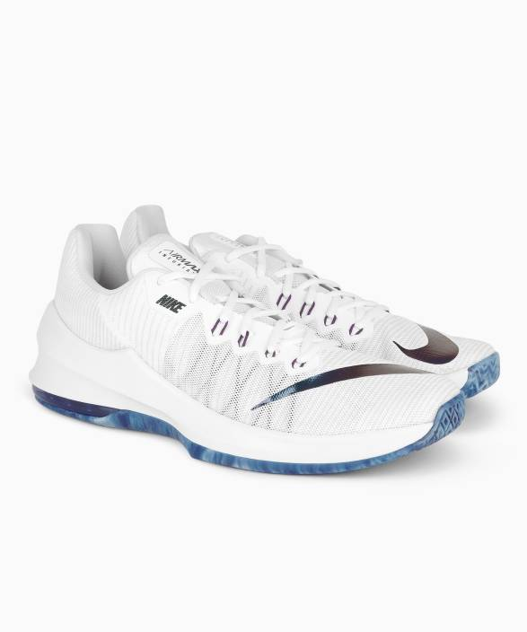 Nike AIR MAX INFURIATE II PRM Basketball Shoes For Men - Buy WHITE ... 264fe08d3