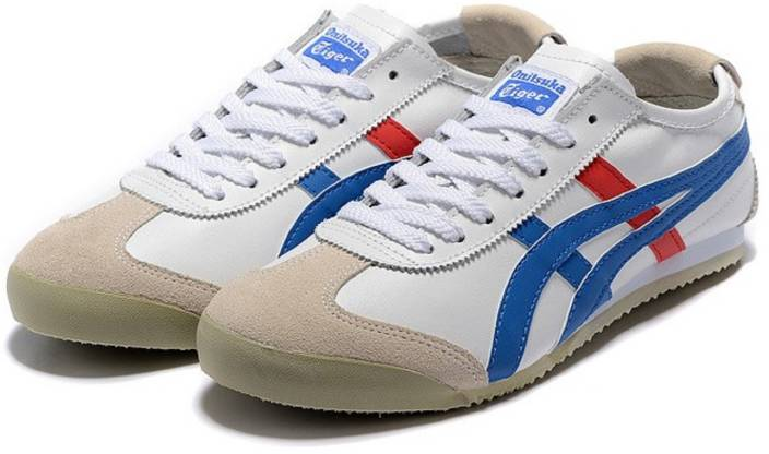 wholesale dealer cc20e fb98d Onitsuka Tiger Mexico 66 White Blue Casuals For Men