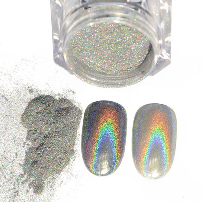ca456f82a9748 Osking 2g Holographic Laser Rainbow Nail Chrome Powder Dust Pigments ...