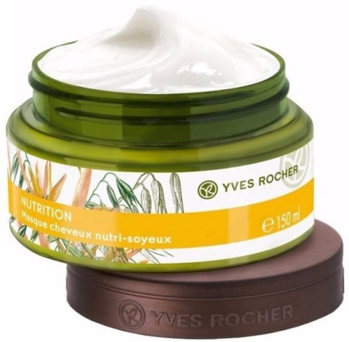 forme élégante achats meilleure sélection de Yves Rocher Nutrition Nutri-Silky Hair Mask - Price in India ...