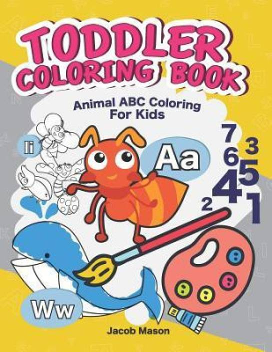 Toddler Coloring Books: Buy Toddler Coloring Books by Jacob ...